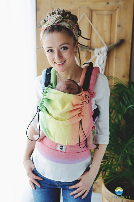 Little Frog Ergonomic Carrier - Rainbow Aura