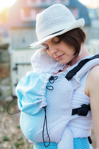 Little Frog Ergonomic Carrier - Sky Cube (Pre-order)