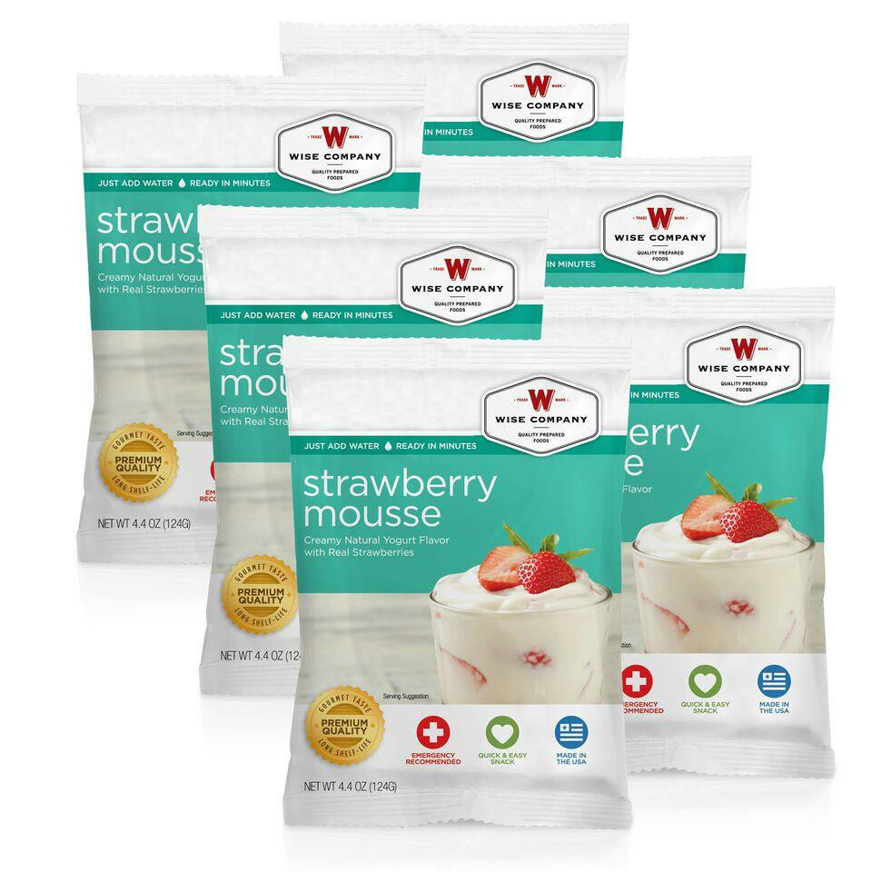 Strawberry Mousse - 6 PACK