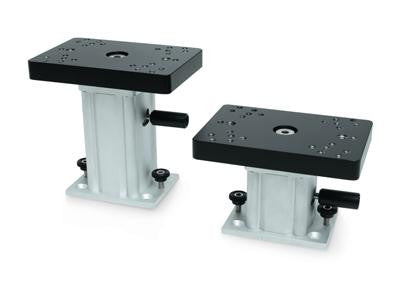 Cannon 6 in. Aluminum Fixed Base Ped Mount
