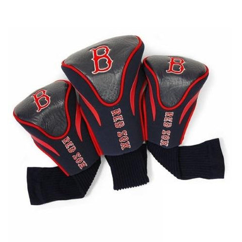 Boston Red Sox 3 Pack Golf Contour Sock Headcovers