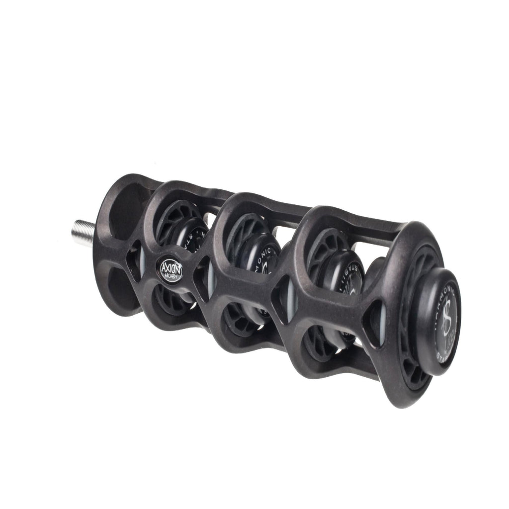 "Axion Silencer 2nd Gen 6"" Black"