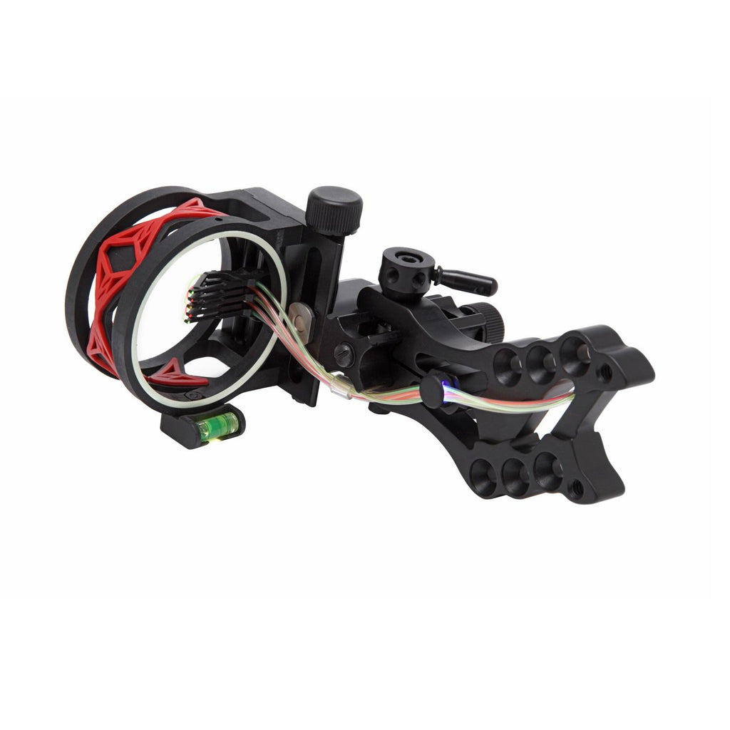 .30-06 Shocker 5 Pin Bow Sight w-Red Damper