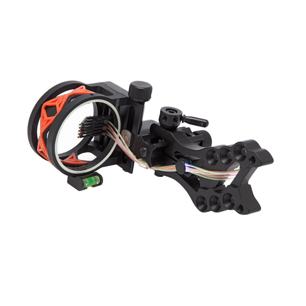 .30-06 Shocker 5 Pin Bow Sight w-Orange Damper