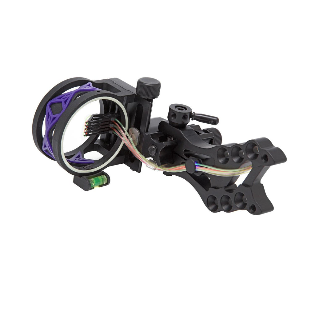 .30-06 Shocker 5 Pin Bow Sight w-Purple Damper