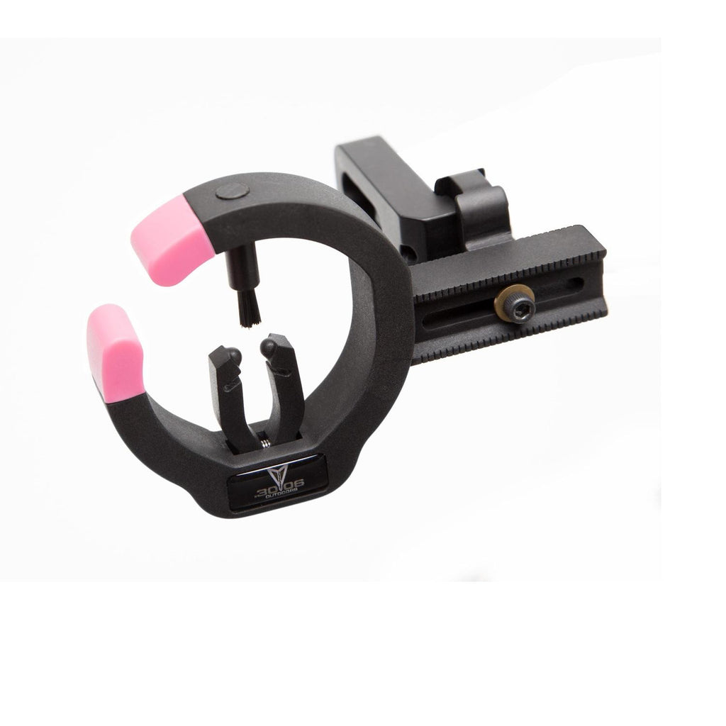 .30-06 The Talon Full Contain Arrow Rest Black-Pink Accent