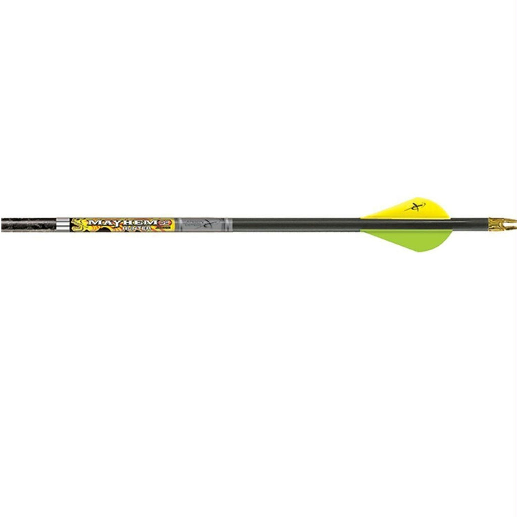 Carbon Express Mayhem Hunter Fletched DS 350 Arrow Mossy Oak