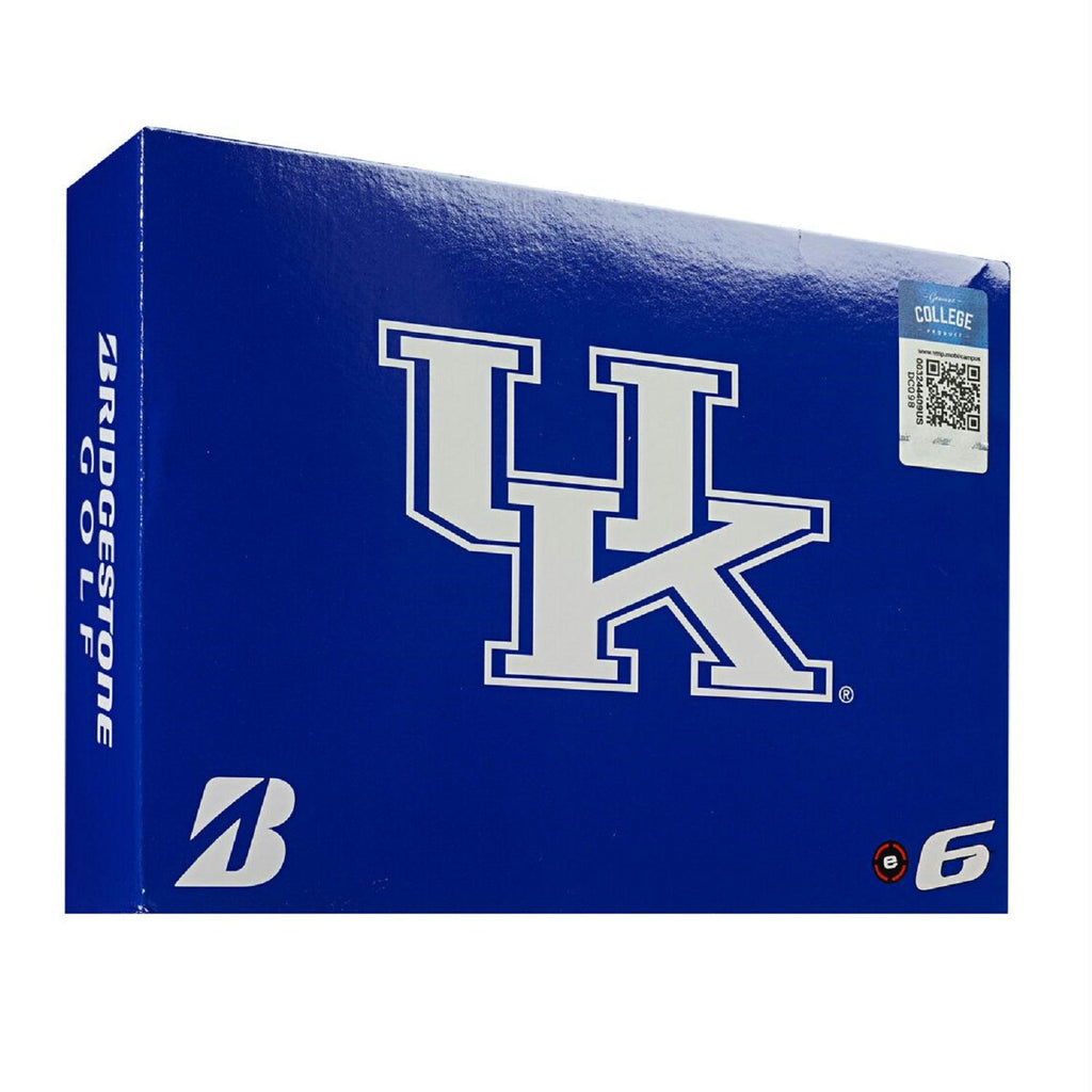 Bridgestone E6 Kentucky Wildcats Golf Balls-Dozen