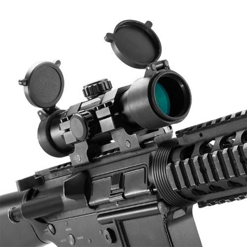"Barska 1x30mm 7"" Tactical Long Red Dot Scope"