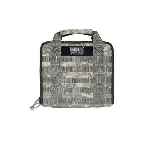 G.P.S. Tactical Hardside Pistol Case Digital Camo
