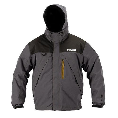 Frabill F2 Surge Rainsuit Jacket - Grey - LGE