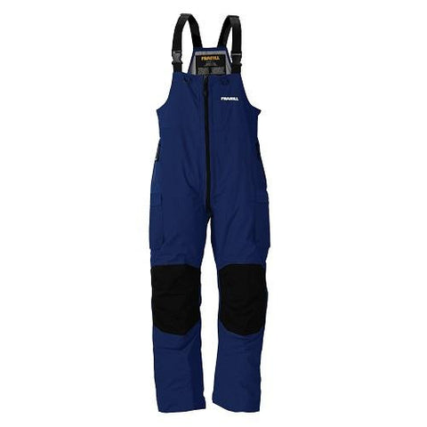 Frabill F3 Gale Rainsuit Bib - Blue - MED