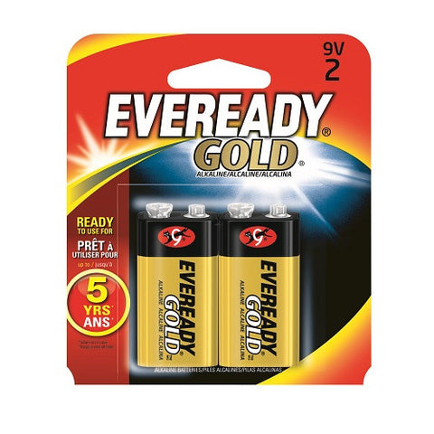 A522BP-2 Eveready 9V 2pk