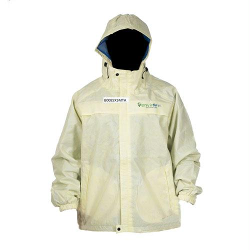 Envirofit Solid Rain Jacket Yellow Medium