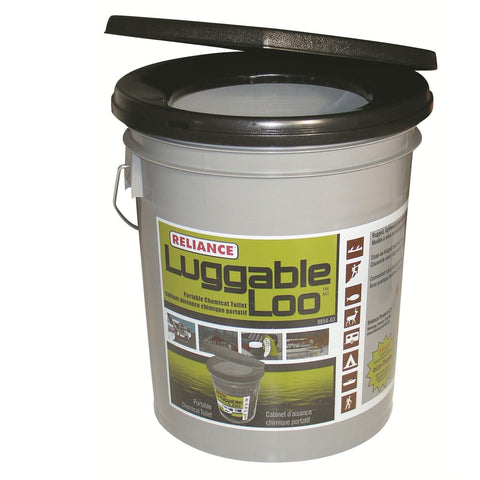 Reliance Luggable Loo Portable Toilet in Gray
