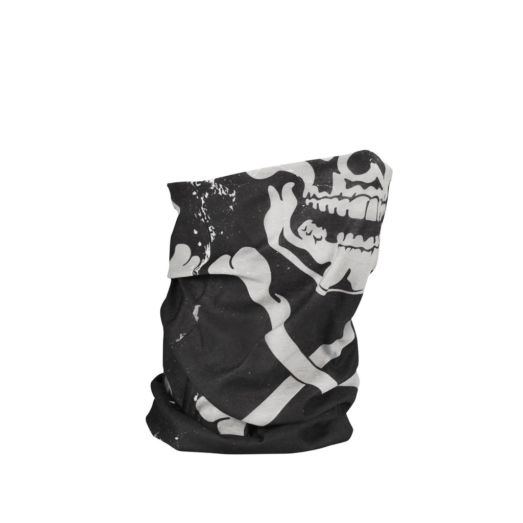 ZANheadgear Fleece Lined Motley Tube - Skull Crossbones