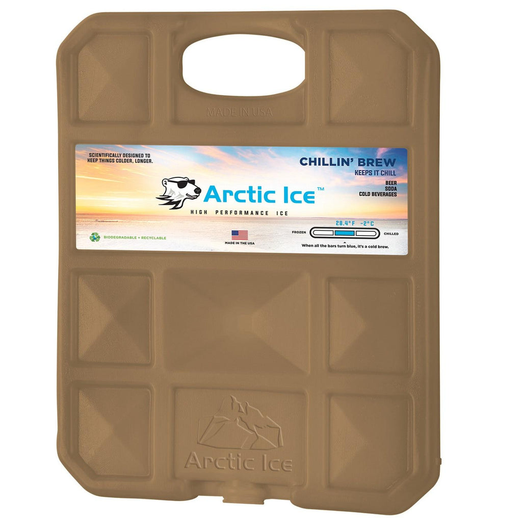 Chillin Brew 28 Degree Collegiate Gold Ice Panel-XL