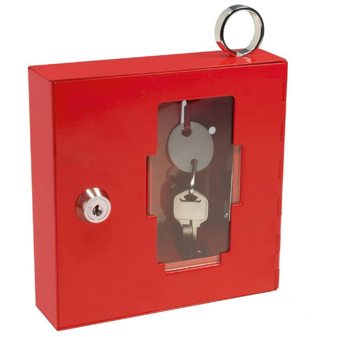 Barska Breakable Emergency Key Box W-Attached Hammer A Style