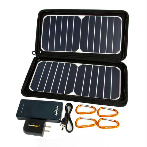 DUO Flex2 Pro - 13 Watt Solar Panel with Power Bank Battery