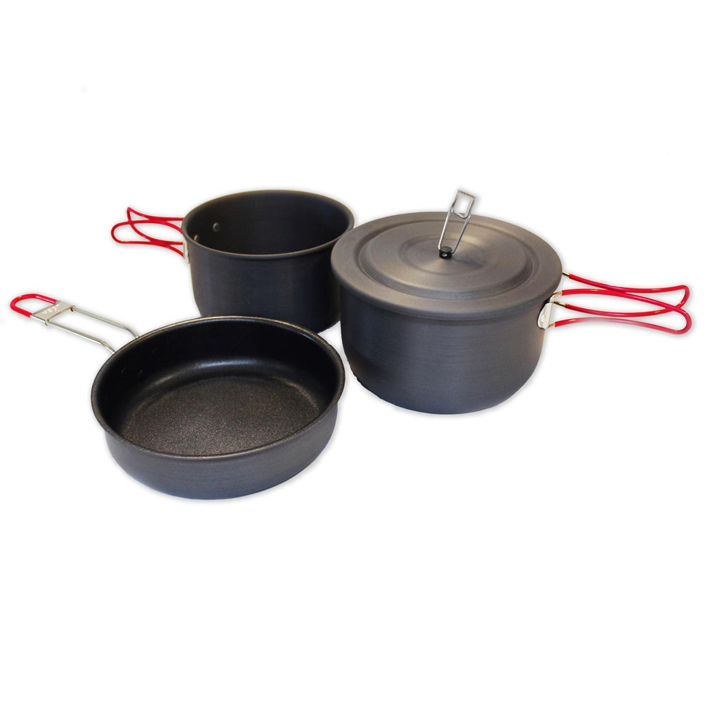 Alpine Mountain Gear Hard Anodized Camping Cookset