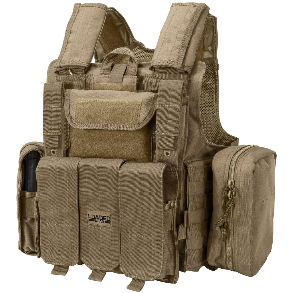 Barska Loaded Gear VX-300 Tactical Vest-Dark Earth