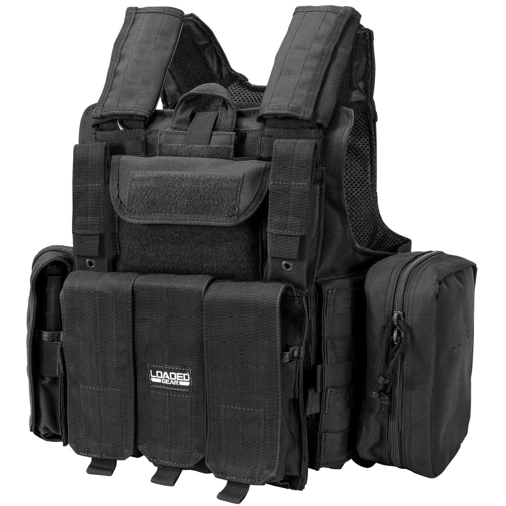 Barska Loaded Gear VX-300 Tactical Vest-Black