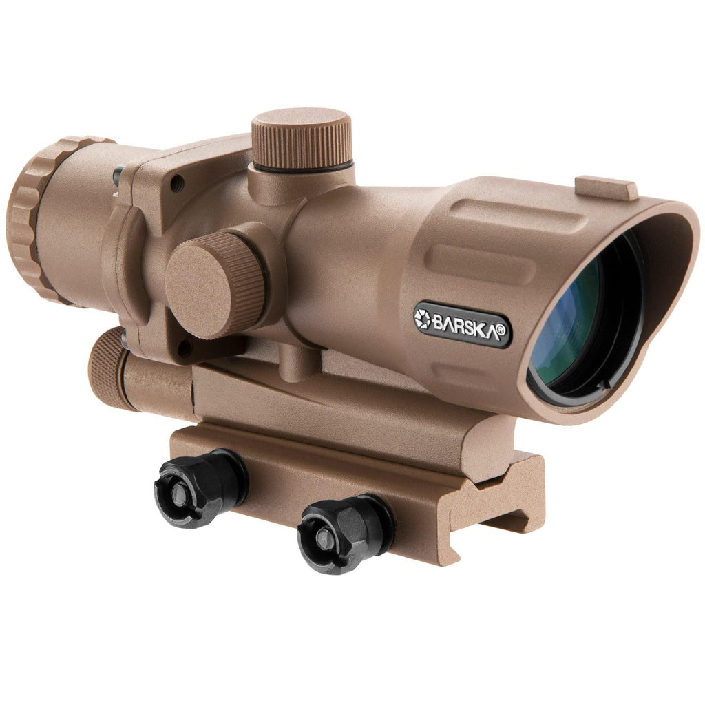 Barska 4X32mm AR-15-M-16 Electro Sight-Flat Dark Earth