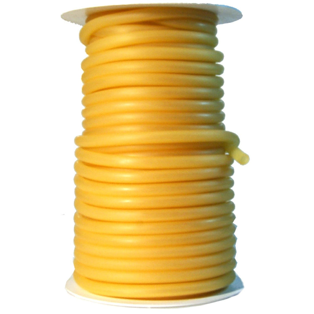 "Danielson Latex Tubing - 50 Ft  Fits 1-4"" Wire - Amber"