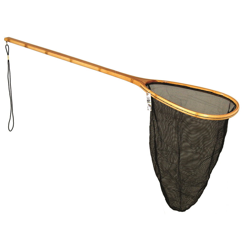 "Danielson Catch-Release Bamboo Net w-Extra Long 32"" Handle"
