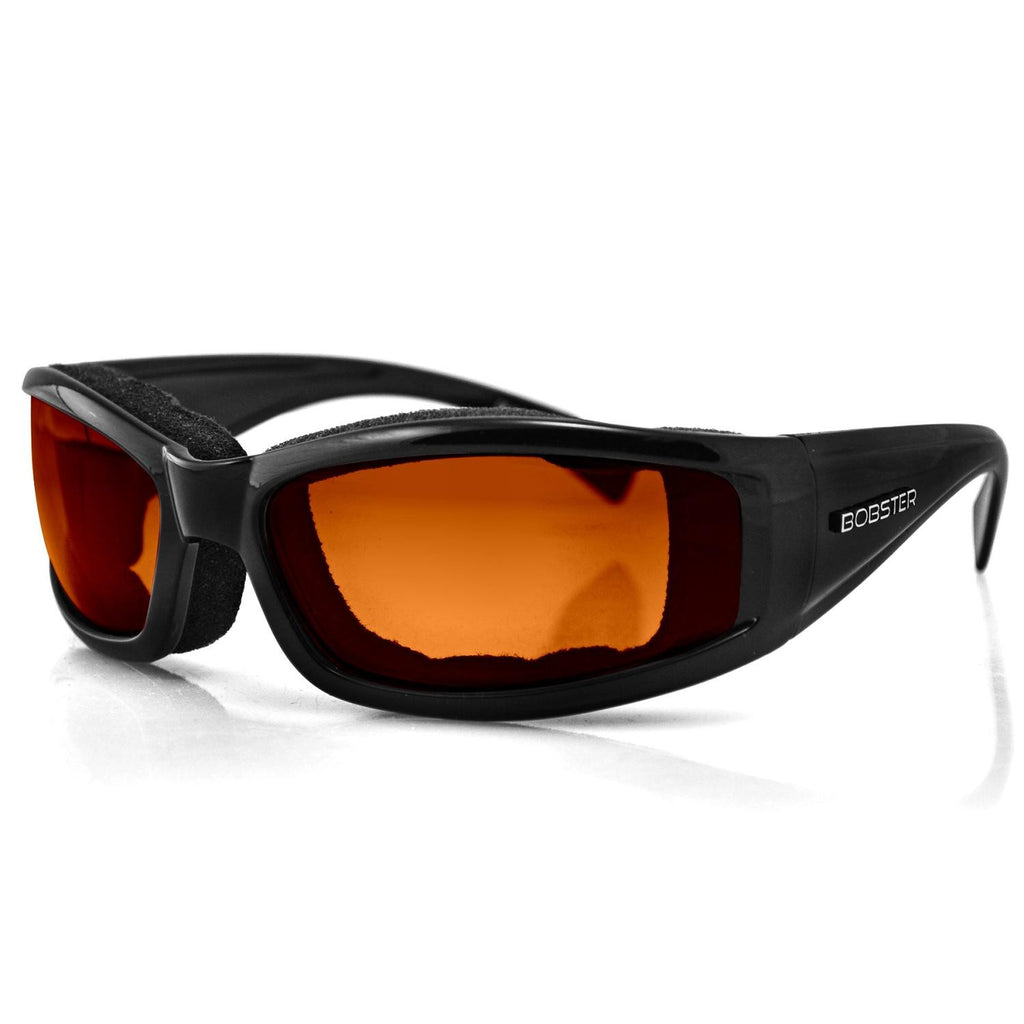 Bobster Invader Sunglass-Blk Frame-Orange Photochromic Lens