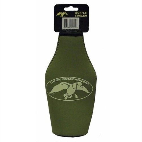 Duck Commander Green Insulated Bottle Sleeve DC-NOV-GBK