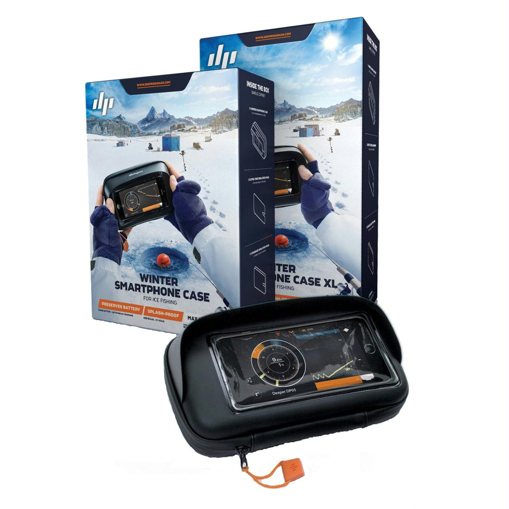 Deeper Winter Smartphone Case for Ice Fishing