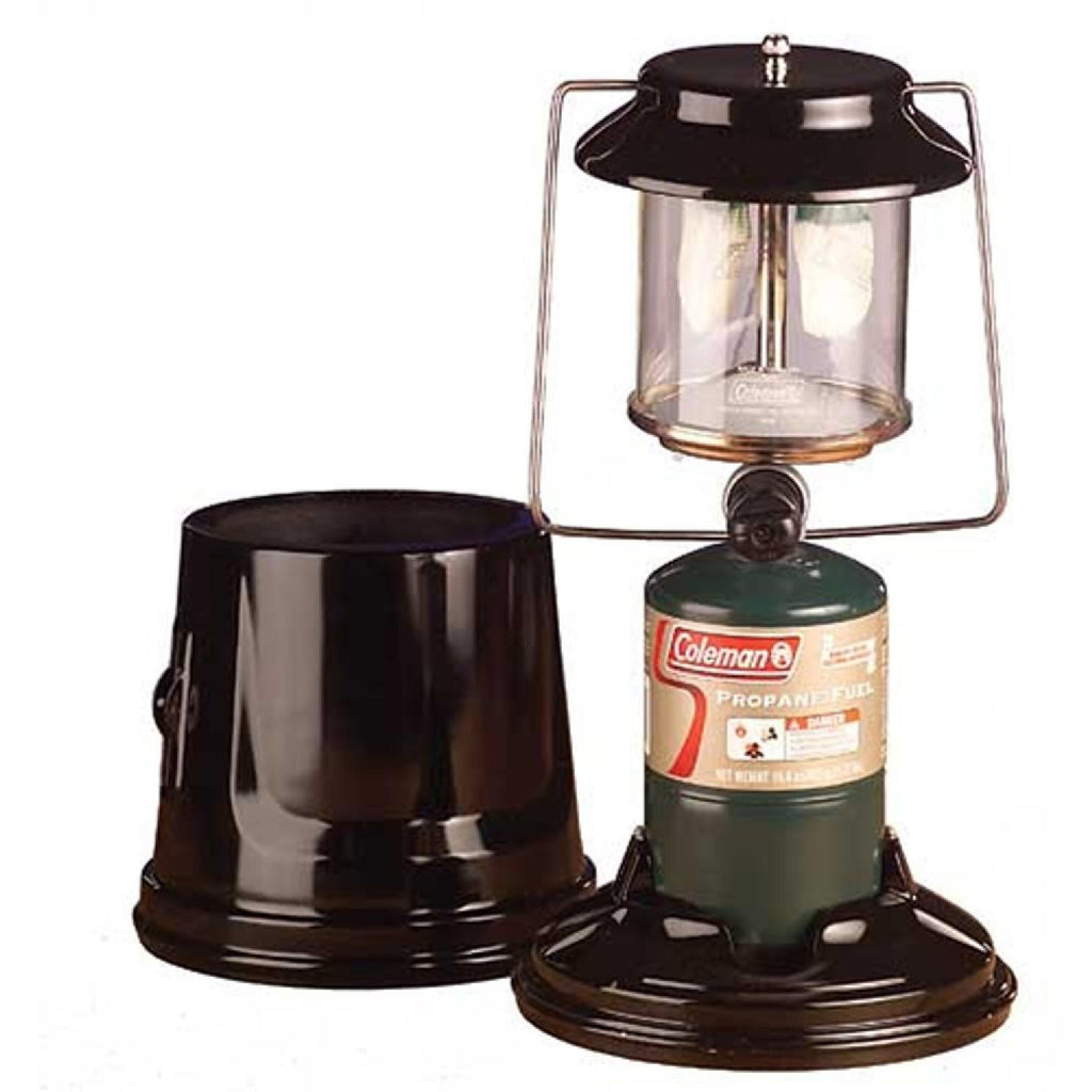 Coleman 2-Mantle Quickpack Lantern Black 2000003051