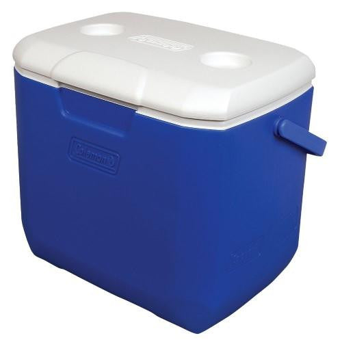 Coleman 30 Quart Bl-Wht-Dark Gry Personal Cooler 3000001999