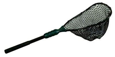 Adventure Ego Landing Net Rubber Flt Sm 14x16 in 18 in Hndl