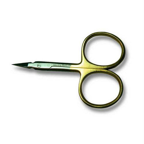 Adamsbuilt 3.5In Arrow Scissors Straight Gold
