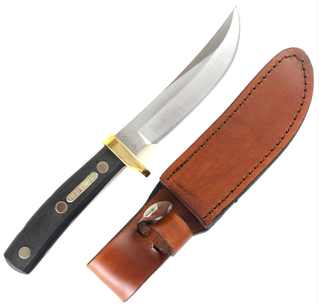 Old Timer Woodsman Full Tang Fixed Blade Knife