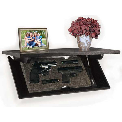 Concealment Shelf, Espresso
