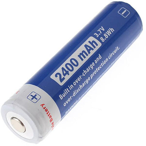 Jetbeam 18650 Rechargeable Li-ion Battery 2400mAh