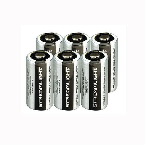 CR123 Lithium Batteries, 6pk
