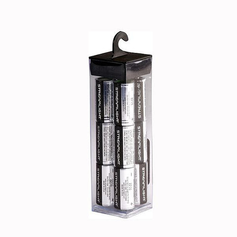 CR123 Lithium Batteries, 12pk