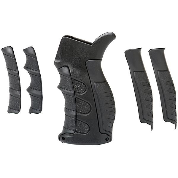 AR15-M16 Replacement Pistol Grip Finger Grooves-Backstrap