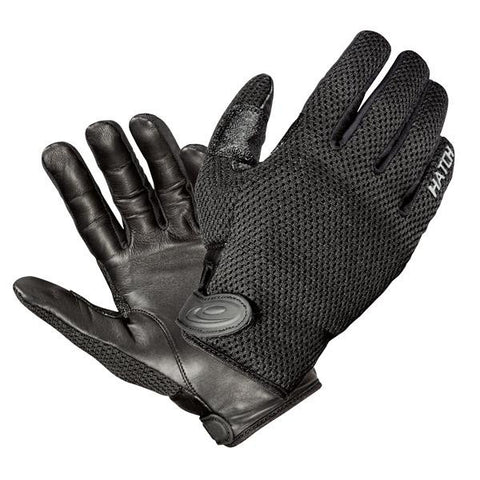 CoolTac Warm Weather Police Duty Gloves, Black, Large