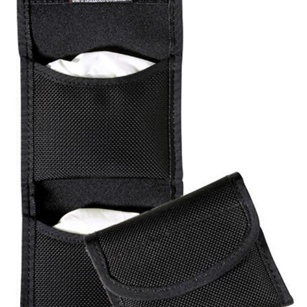 7328 Flat Glove Pouch Black-Hook& Loop