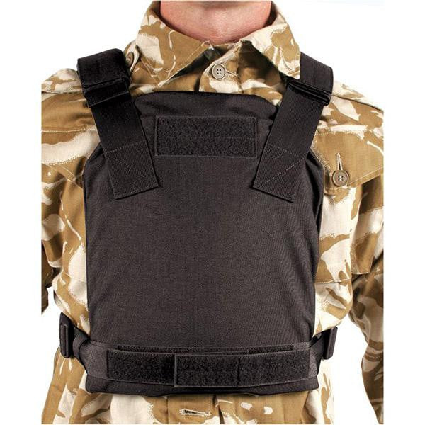 Low Vis Plate Carrier, Black, Medium, 32HP08 Hard Plate
