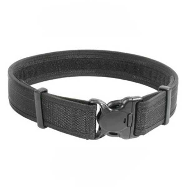 "2"" Web Duty Belt, Black, Size 26-30"