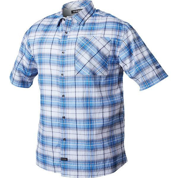 1700 Shirt, Short Sleeve, Admiral Blue, 2XL