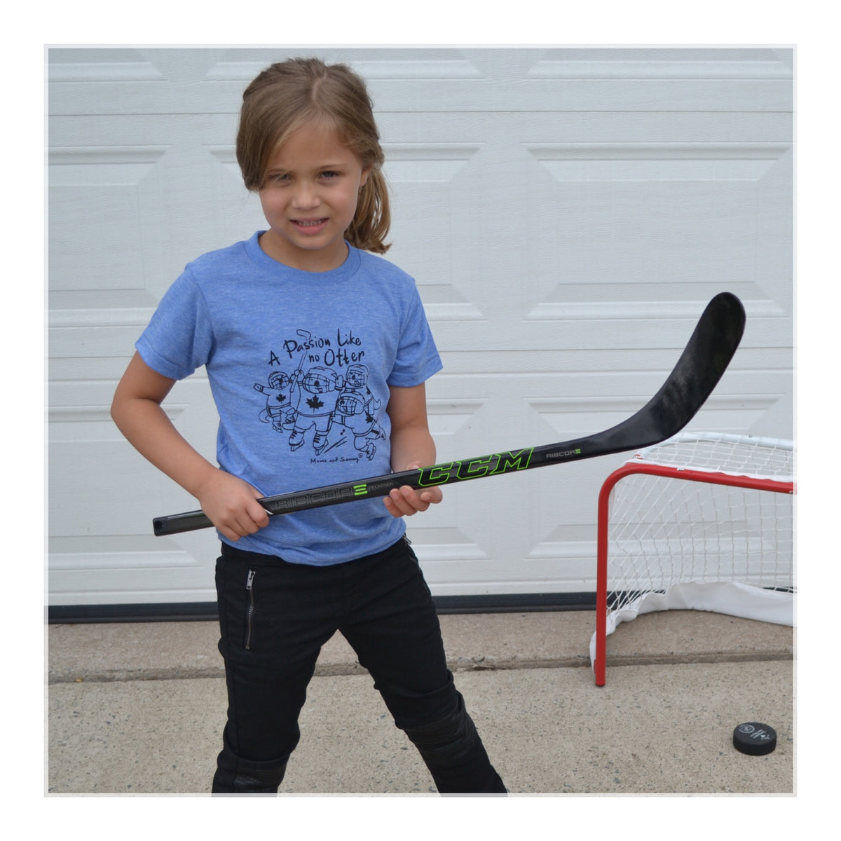 Modern Kids Hockey Tee |. Momo and Sammy Clothing Co.