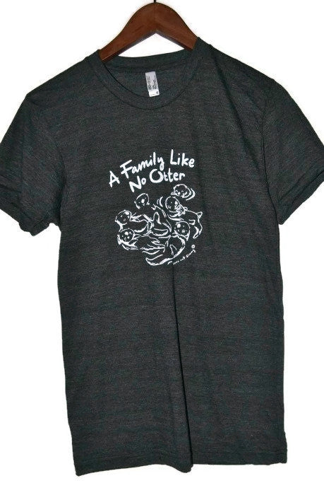Family Like No Otter | Hand printed in Nova Scotia