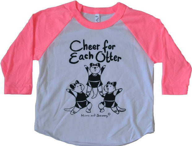 Cheer modern kids tee || Momo and Sammy Clothing Co